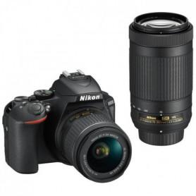 Pack Expert : NIKON D5600 + 2 Objectifs  AF-P 18-55 VR