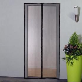 Moustiquaire porte rideau magnétique - H230 cm x L100 cm