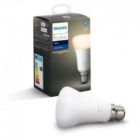 PHILIPS HUE Ampoule White - 9,5 W - B22 - Bluetooth