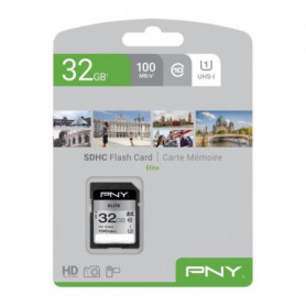 PNY Carte mémoire SD 32Go Elite C10 U1