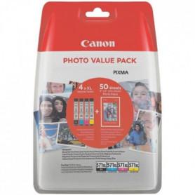 CANON Cartouches d'encre CLI-571XL - C/M/Y/BK