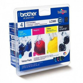 Brother LC980 Cartouches d'encre Multipack
