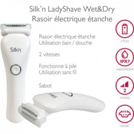 Silk'n LSW1PE1001 LadyShave Wet&Dry