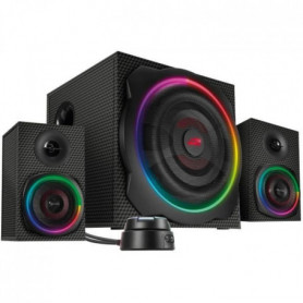 SPEED LINK Enceintes 2.1 Gravity Carbon RGB