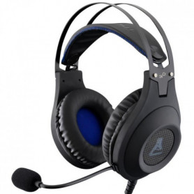 THE G-LAB Casque Gaming KORP CHROMIUM - XTRA BASS