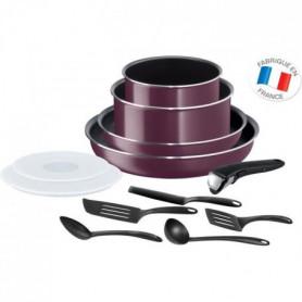Ingenio Essential Violet Byzantium Batterie de cuisine 12 Pieces