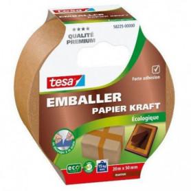 TESA Ruban adhésif d'emballage carton ecoLogo - 20m x 50mm