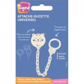 TIGEX Attache-sucette Chainette Universel Chat