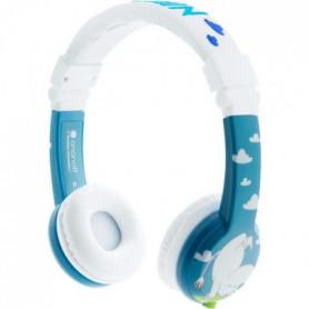 BUDDYPHONE Casque filaire Moomins - Bleu et blanc