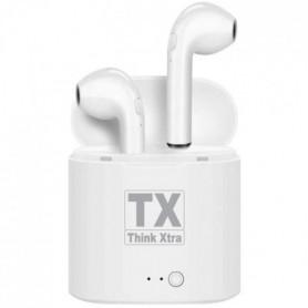 TRAX Ecouteurs Bluetooth 5.0 Mains-libres intégrés - Autonomie 2/3h