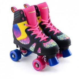 OSPREY Patins à roulettes Spectrum - Enfant - Noir, rose et bleu 41