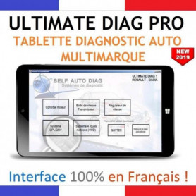 Valise diagnostic auto multimarque complete ULTIMATE DIAG PRO
