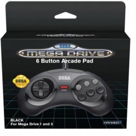 Manette Officielle SEGA Mega Drive Mini Retro-bit 6-button USB