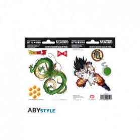 Stickers Dragon Ball - 16x11cm  / 2 planches - DBZ / Shenron