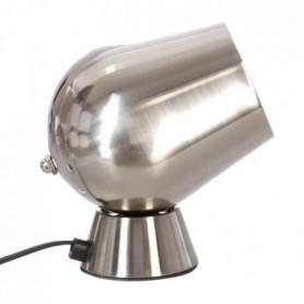 Lampe à poser déco touch en métal - Ø 12,5 x H 18 cm