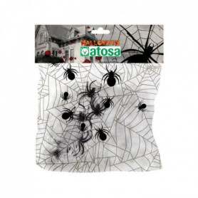 ATOSA Toile d'araignée S/Rab. - 100 g - Adulte - Blanc