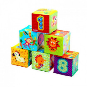 ESCABBO Set de 6 cubes soft