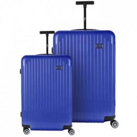 BARTOLI Ensemble de 2 valises 55/75cm Bleu