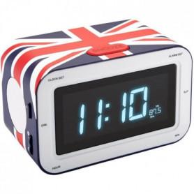 BIGBEN RR30CG Radio Réveil avec affichage LED - UK