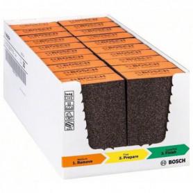 BOSCH Accessoires - 1 bloc abrasifs standard medium s471 -