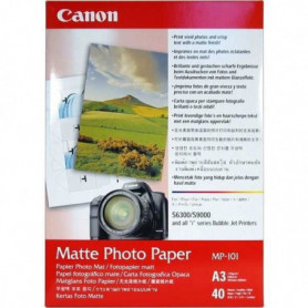 CANON Pack de 1  Papier photo matte 170g/m2 -  MP-101