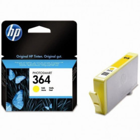 HP 364 cartouche d'encre jaune authentique