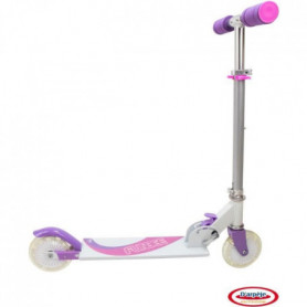 Funbee LED-Patinette 2 roues  rose LED