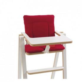 SUPAFLAT Coussin de chaise Signature Red