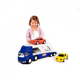 Little Tikes-Camion Porte vehicule avec 2 voitures de course