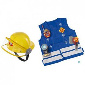 SAM LE POMPIER Smoby Kit de Pompier + Casque