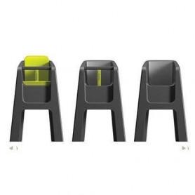 HOPPOP Chaise haute Trono - Gris avec siege Lime