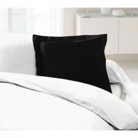 LOVELY HOME Lot de 2 Taies d'Oreillers 100% coton 63x63 cm