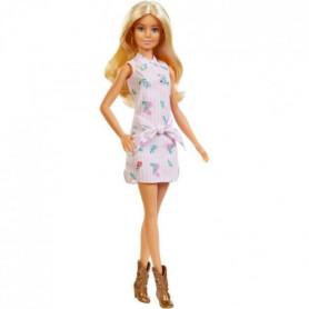 Barbie - Barbie Fashionistas Robe Rayures - 3 ans et +