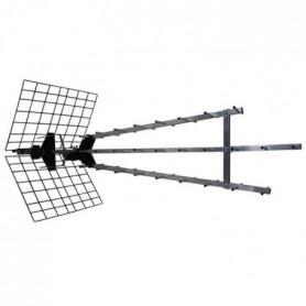 METRONIC 415049 Antenne d'extérieur trinappe amplifiée 57 dB
