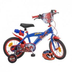 MARVEL Vélo enfant Spiderman 14 avec casque