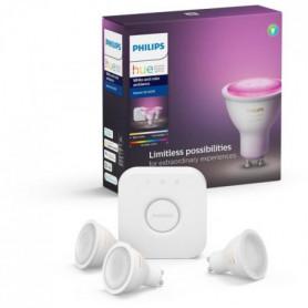 PHILIPS HUE Kit de démarrage White & Colors 3 ampoules
