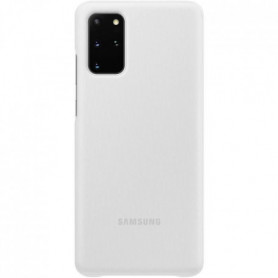 Clear View cover S20+ Blanc