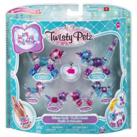 TWISTY PETZ Pack de 6 Famille - Modele aléatoire