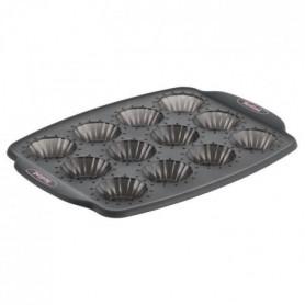 TEFAL Moule 12 minis tartelettes Crispybake - Silicone - 29x21 cm