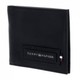 TOMMY HILFIGER Portefeuille AM0AM06007BDS en cuir - Noir