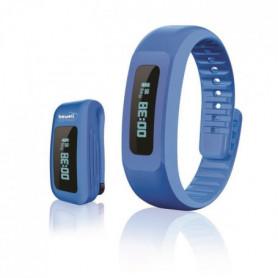 BEWELL MYCOACH Bracelet connecté BW-F17 Bleu