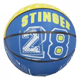 NEW PORT Mini-ballon de basketball - Bleu