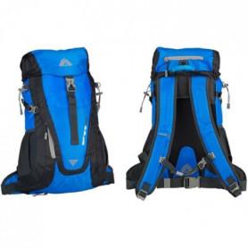 ABBEY Sac a dos de randonnée - Avec systeme d'aération 35 L - Bleu