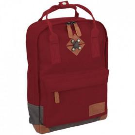 ABBEY Petit sac a dosen polyester 300T Rouge Bordeaux