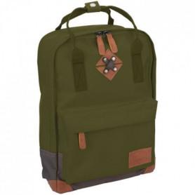 ABBEY Petit sac a dos24 x 10 x 33 cm - Vert Kaki
