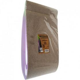 AIME Griffoir Carton - Planche a gratter 100% recyclé, aubergine