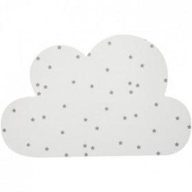 Applique nuage avec timer - H. 19,5 cm - Blanc