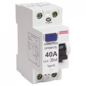 DEBFLEX Interrupteur différentiel 40 A type AC