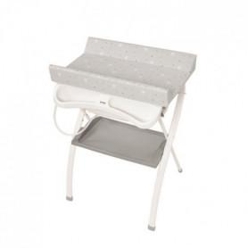 BREVI Table à langer pliante Lindo ergonomico Etoiles
