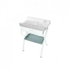 BREVI Table à langer pliante Lindo ergonomico Lapinou - Gris